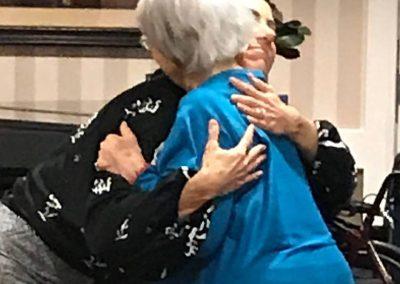 Ruth & Shannon Hug